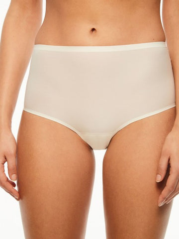Chantelle Panties - Soft Stretch Seamless Full Brief in One Size 2647 - Ivory