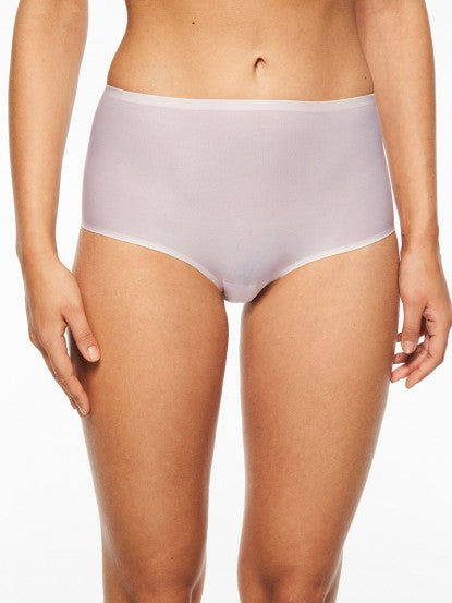 81607f6f8 Chantelle Panties - Soft Stretch Seamless Full Brief in One Size 2647 -  Blush Pink ...