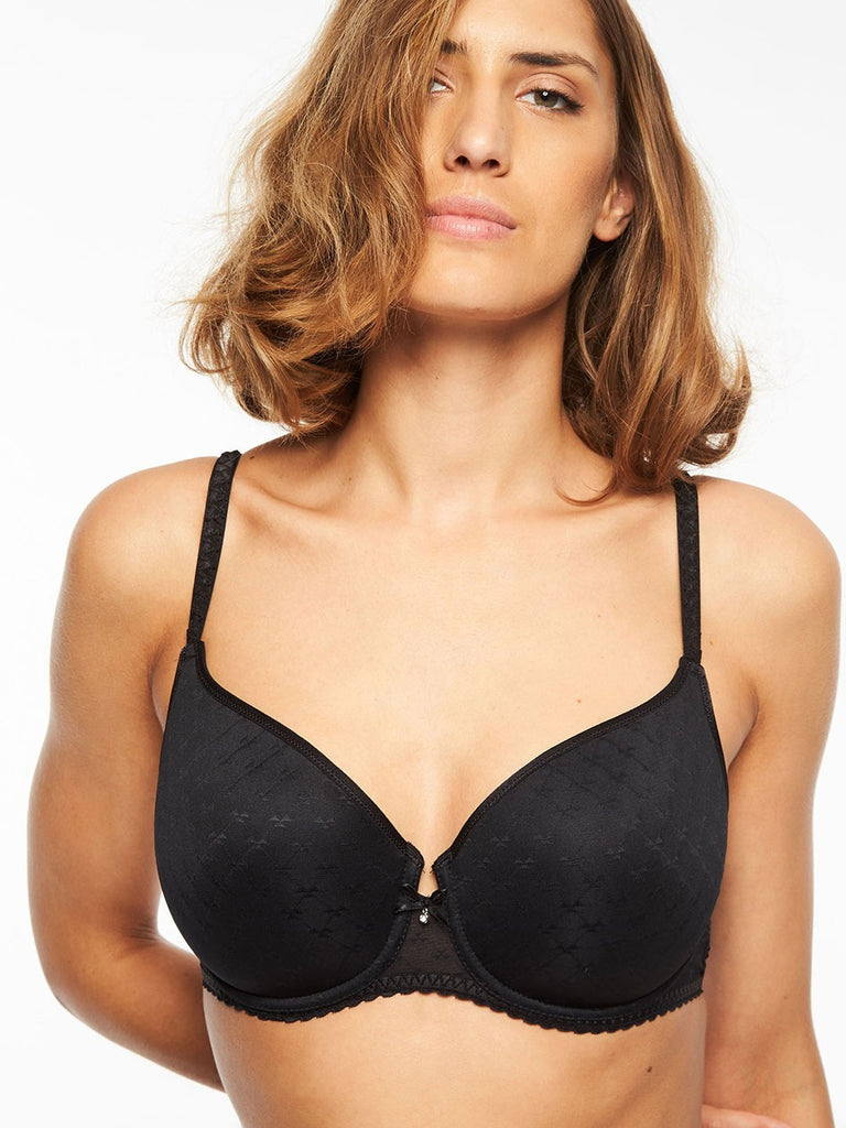 Chantelle Bras - Courcelles Convertible 6797 - Black SPECIAL OFFER FREE EXPRESS SHIPPING