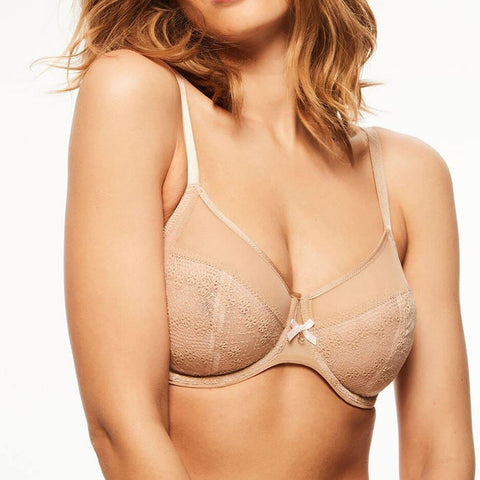 Chantelle Bras - Releve Moi 1571 - Nude SPECIAL OFFER FREE EXPRESS SHIPPING