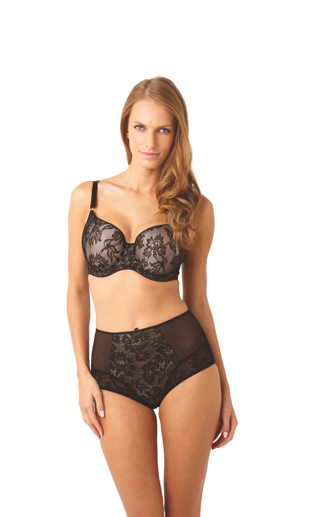 Panache Bras - Idina Moulded 6968 - Black/Nude SPECIAL OFFER 30% OFF & FREE EXPRESS SHIPPING