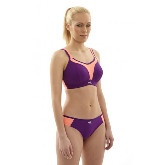 Panache Bras - Sport No Wire 7341 - Purple Coral SPECIAL OFFER FREE EXPRESS SHIPPING