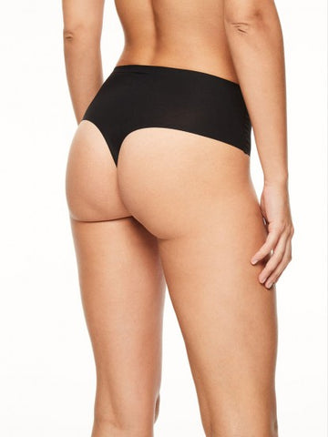 Chantelle Panties - Soft Stretch High Waist Thong 1069 - Black