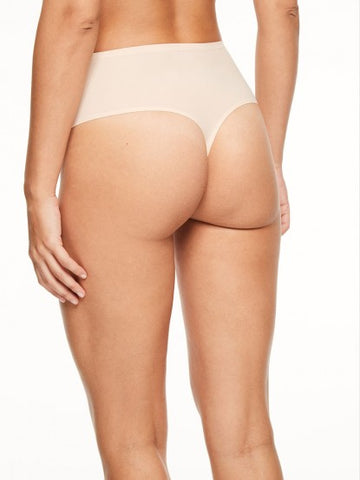 Chantelle Panties - Soft Stretch High Waist Thong 1069 - Nude