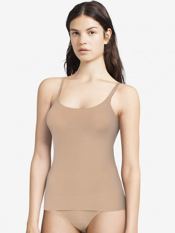 Chantelle Camisole - Soft Stretch Lightly Lined Cami 16A4 - Nude FINAL SALE