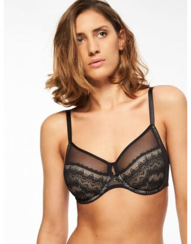 Chantelle Bras - Releve Moi 1571 - Black SPECIAL OFFER FREE EXPRESS SHIPPING
