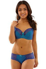 Cleo Bras - Hettie 9011 - Blue/Teal FINAL SALE