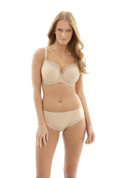 Panache Eleanor Nursing Bra - Molded cup Nude 9081.