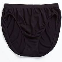 Jockey Panties - Comfies Micro French Cut 7276 - Black