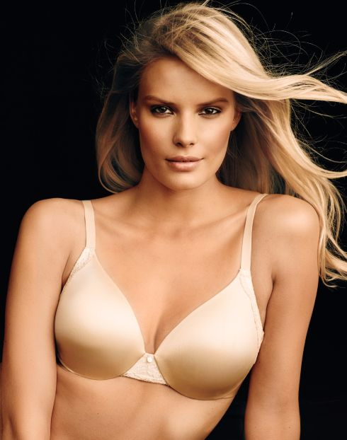 Maidenform-Smooth Live in Luxe Extra Coverage T-Shirt Bra- Nude