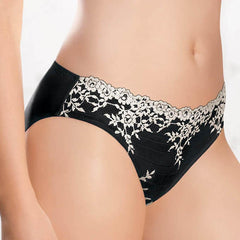 Wacoal Panties - Embrace Lace Bikini 64391 - Black