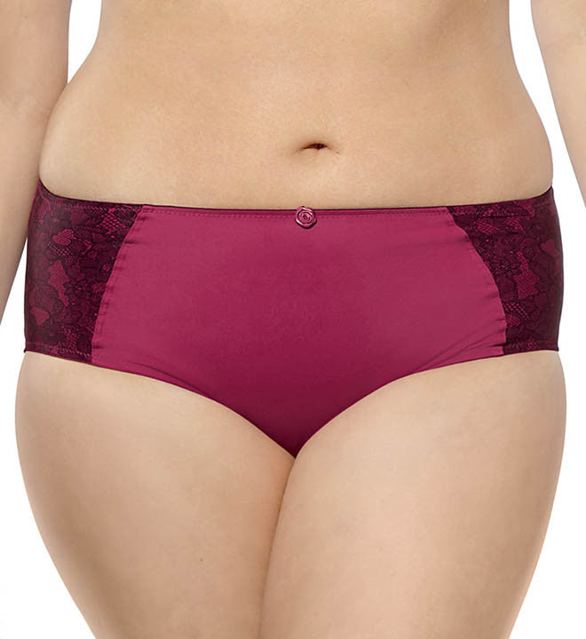 Sculptresse - Willow Brief - Raspberry