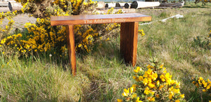 Carved garden bench - personalized inscription. Solid wood, with 5 Year warranty