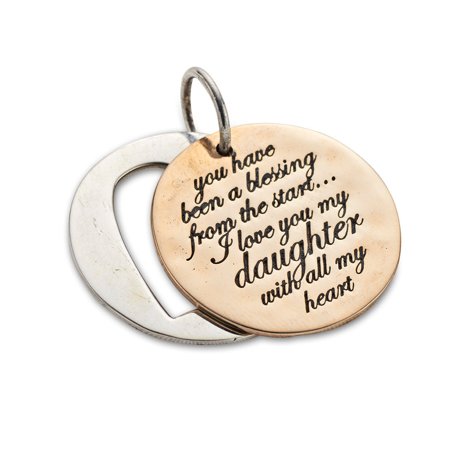 BLESSING DAUGHTER CHARM