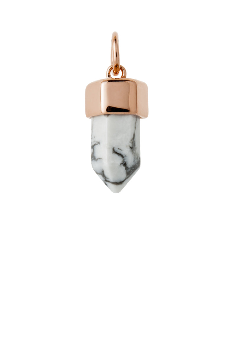 COLLECT HOWLITE PENDANT