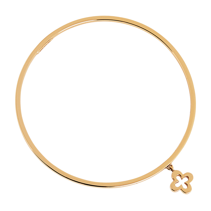 LOST ISLAND CLOVER BANGLE