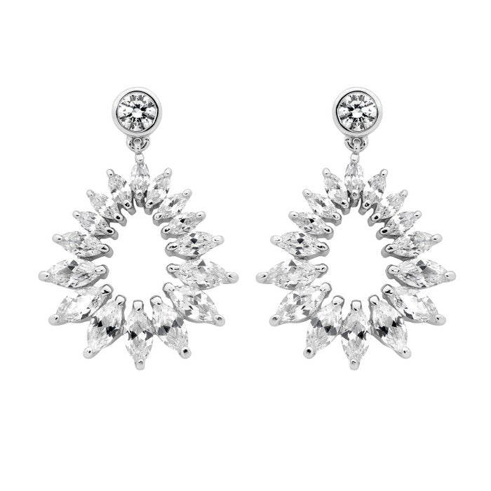 REFLECTION MARQUISE EARRINGS