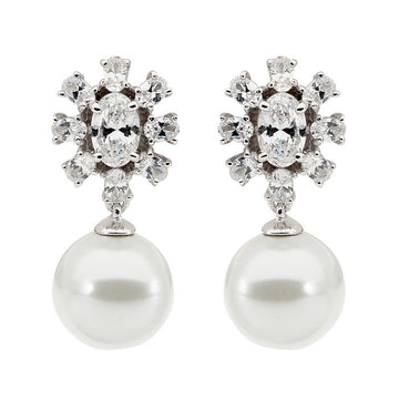 SWANSON SMALL PEARL AND STUD EARRINGS