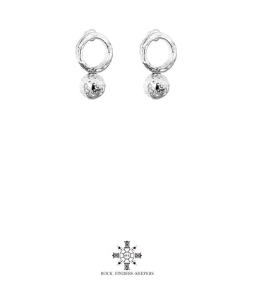 RADISON LARGE STUD EARRINGS