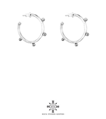 BELLA HOOP MEDIUM EARRINGS
