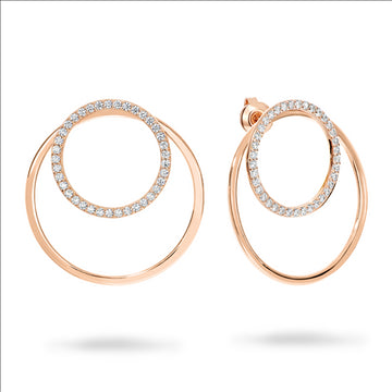 CAPRI ROSE GOLD EARRINGS