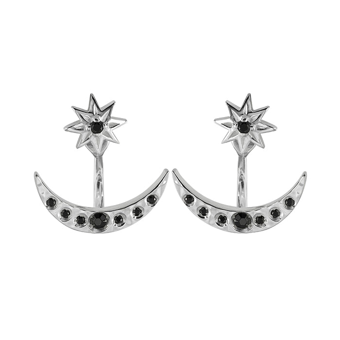 BLACK NIGHTS STARRY NIGHTS EARRINGS
