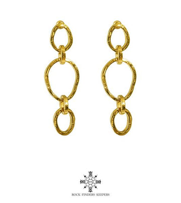PARADIS TRI LINK EARRINGS