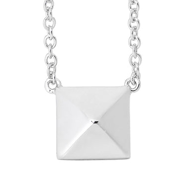 RAISED SQUARE NECKLACE