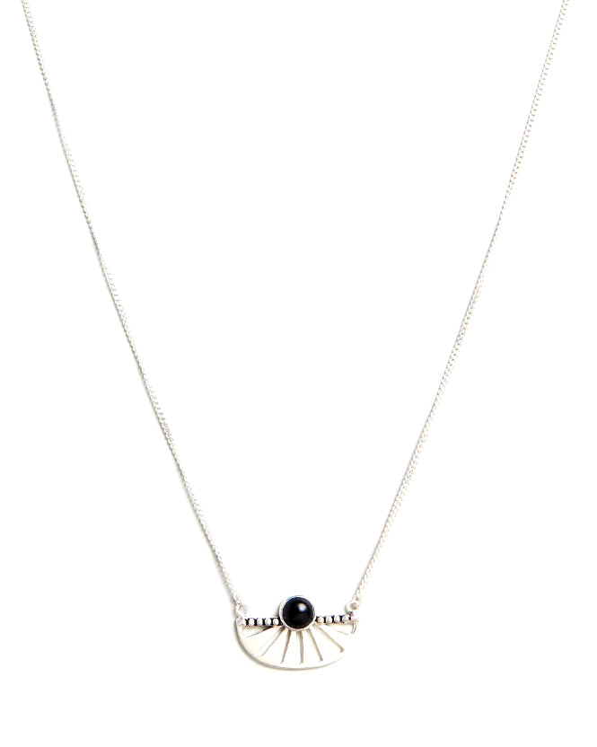 ADRIFT ONYX NECKLACE