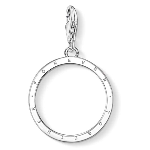 CHARM CLUB TOGETHER FOREVER CIRCLE PENDANT