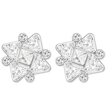 VENUE CLEAR SNOWFLAKE EARRING