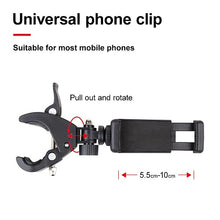 Load image into Gallery viewer, Adjustable Selfie Stick Selfie Ring Light with a stand and Phone Holder