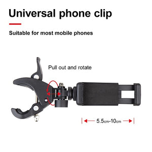 Adjustable Selfie Stick Selfie Ring Light with a stand and Phone Holder