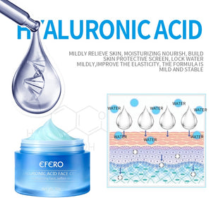 Hyaluronic Acid Argireline Face Cream Moisturizing