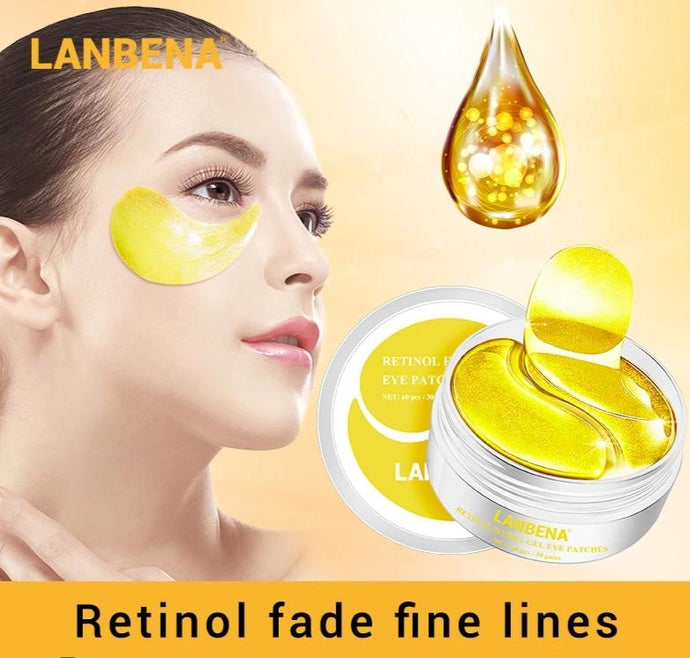 Eye Mask Collagen Hyaluronic Acid Gel Moisturizing Retinol
