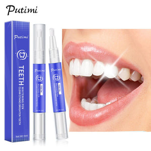 Whitening Teeth Pen Gel Tooth Cleaning Bleaching Kit Dental White Teeth Whitening Pen Bleaching Whiter Strips Stain Removal
