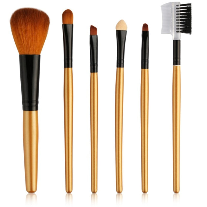 6Pcs Makeup Brushes Set