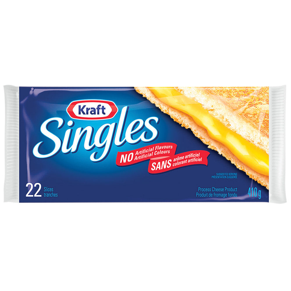 Kraft Singles - Fromage en tranches (22) - 410 g