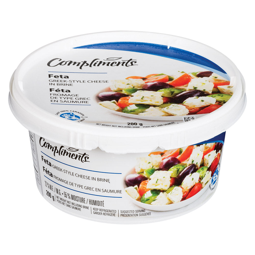 Compliments - Fromage feta - 200 g