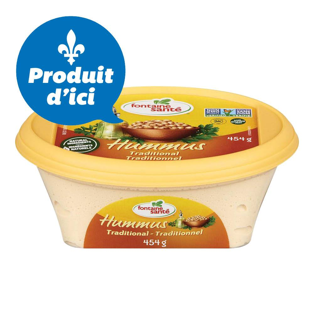 Fontaine Sante - Hummus traditionnel - 454 g