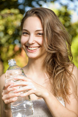 healthy hair tips drink more water for hair growth hydrate hair and keep it healthy heatless hair styling options and methods soft and easy no heat curlers for overnight curls and beach waves long hair short hair natural hair