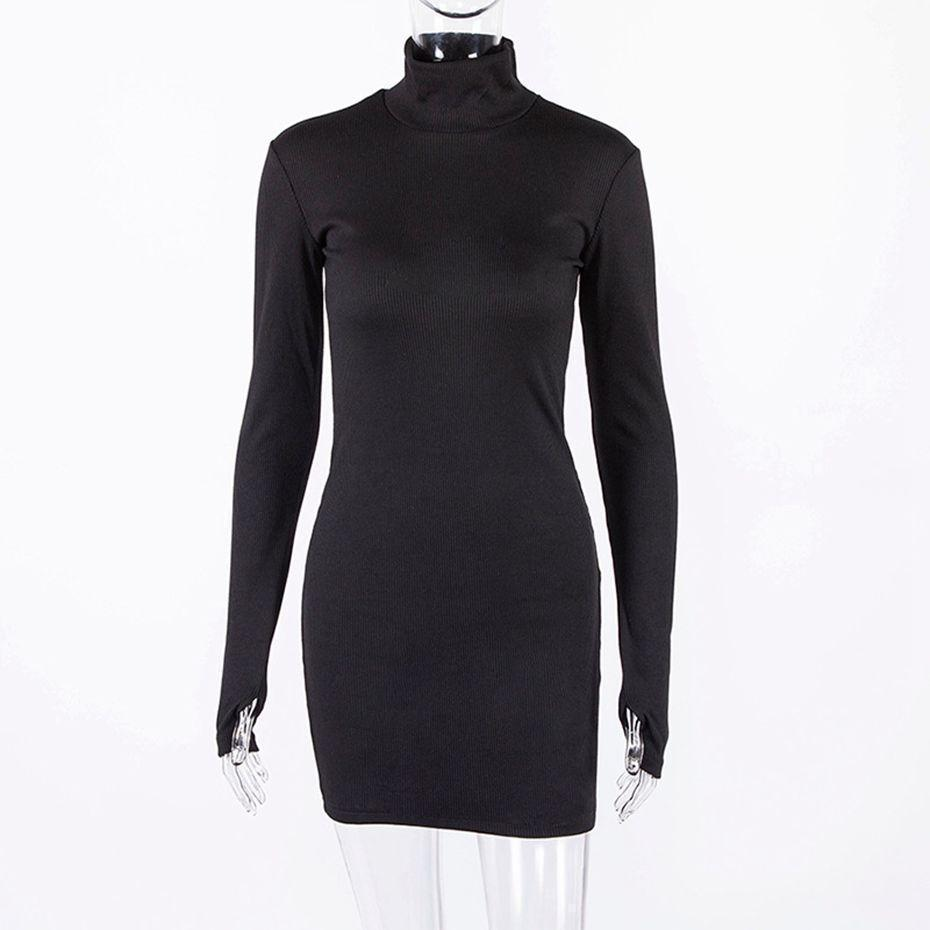 JANNA long sleeve bodycon dress