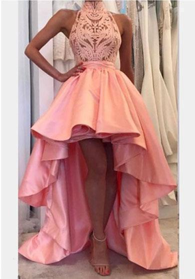 JANIE halter prom dress