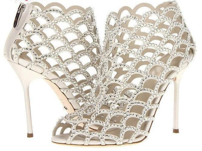 Leather Bridal Wedding Shoes