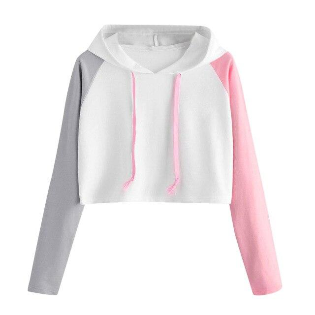 Long Sleeve Hoodie Triple Color
