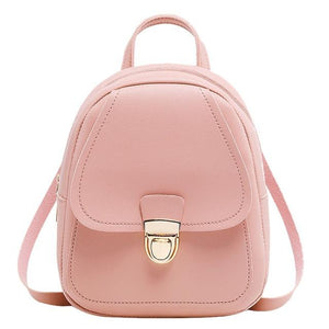 Small Backpack With Headphone Hole