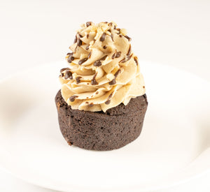 Hazelnutty Heart Cupcake