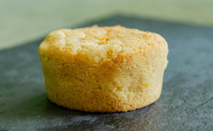 Naked Lemony Lemon Muffin
