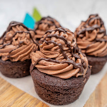 Load image into Gallery viewer, Triple Choco Heart Cupcake