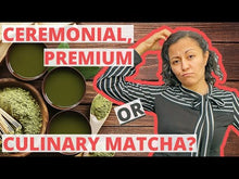 Load and play video in Gallery viewer, Organic Ceremonial Grade Matcha (30g)